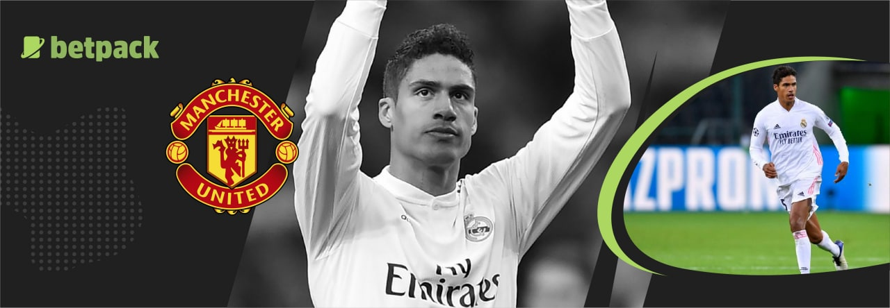 Raphael Varane next in line for the Red Devils