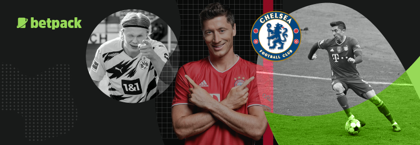 Chelsea are looking to sign Lewandowski to lead the attack next season
