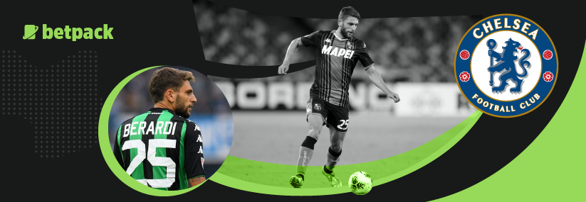 Italian forward Dominico Berardi is on Chelsea's radar