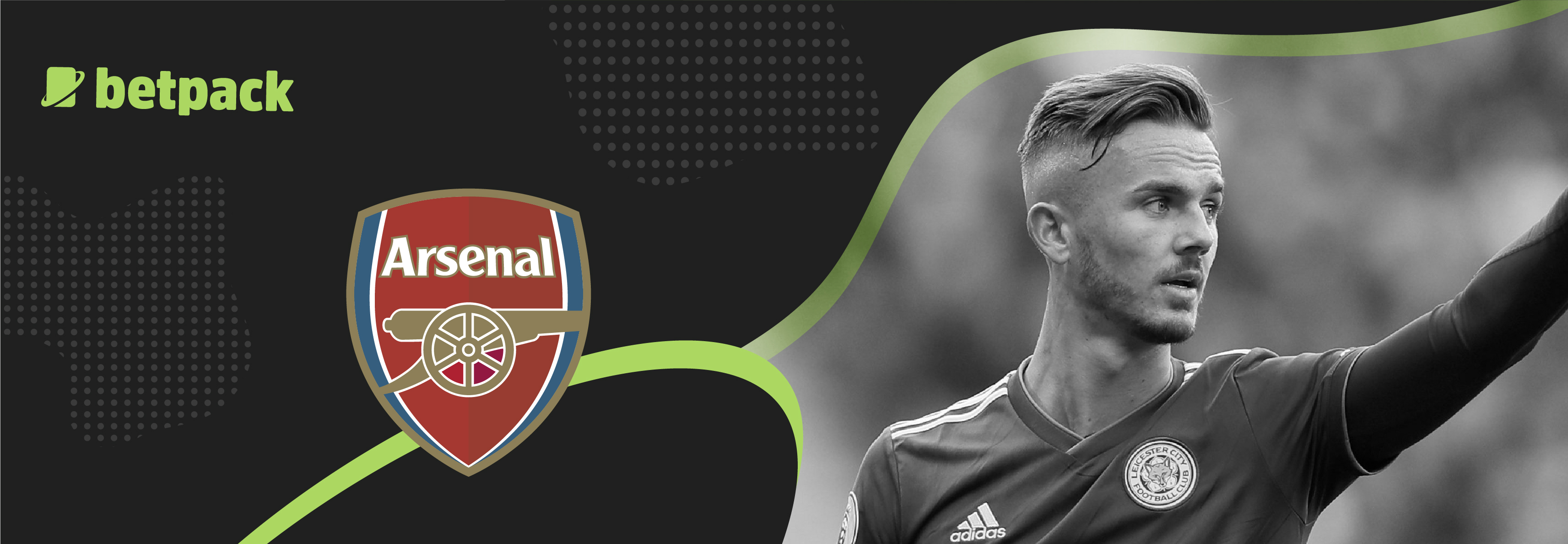 The Gunners are keen on adding James Maddison to their squad