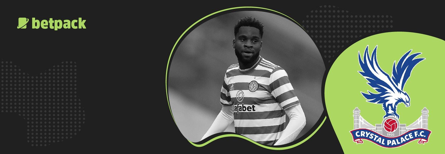 Celtic striker Odsonne Edouard set for Palace medical