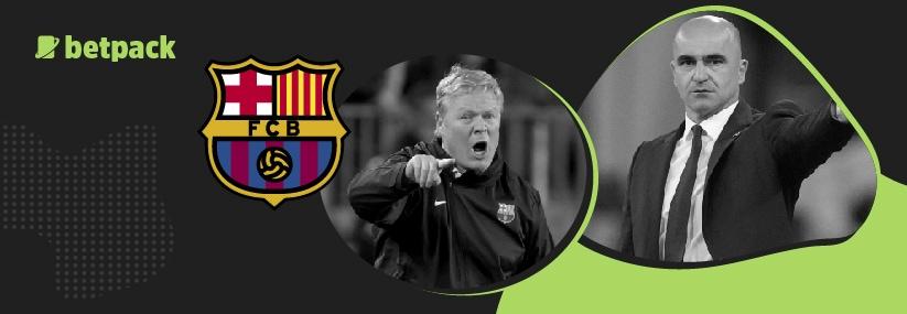 Barca want Belgium manager Martinez to succeed Koeman