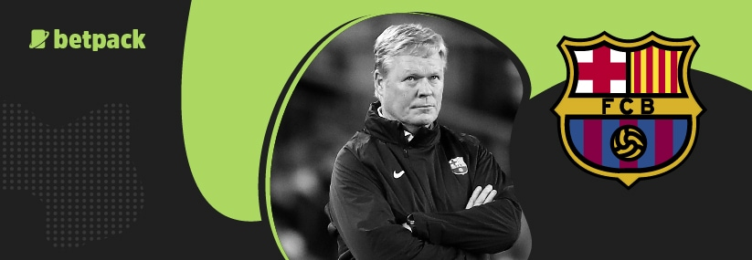 Koeman says he'll leave Barca on one condition