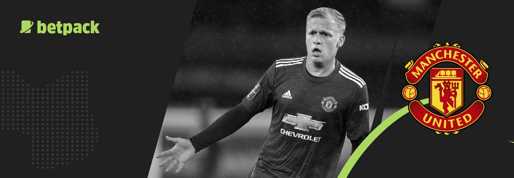 Van de Beek could be on his way out of Manchester Utd