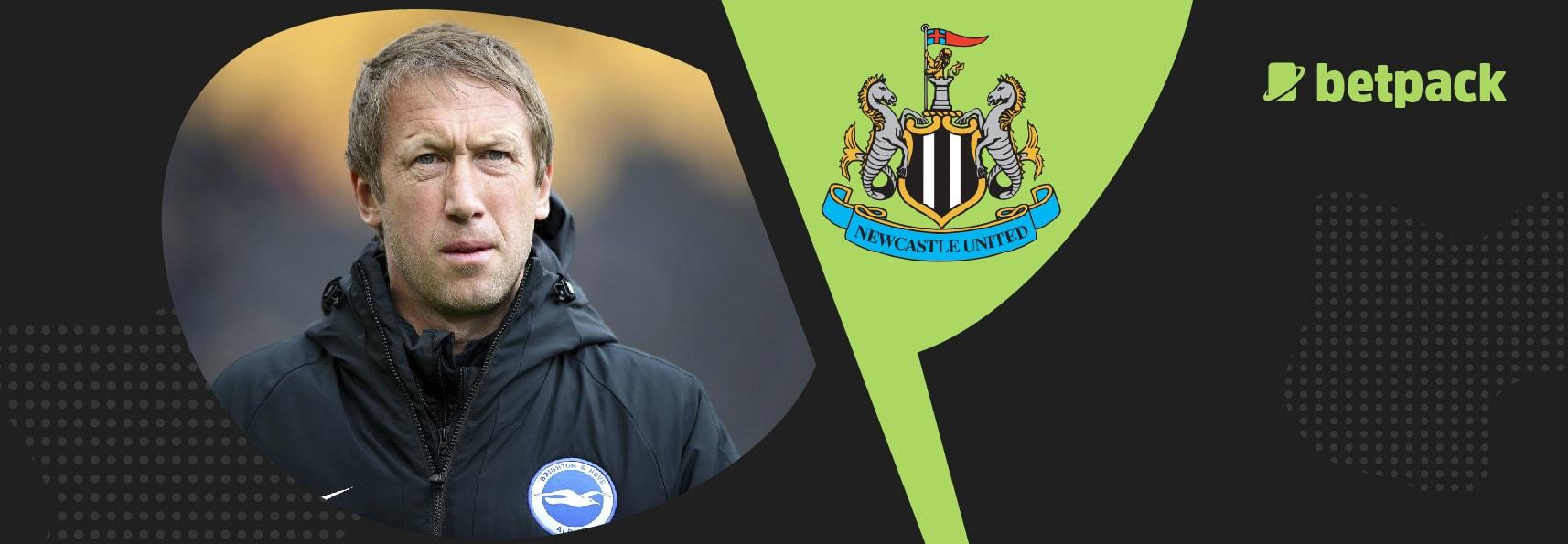 Newcastle favour Brighton boss Graham Potter