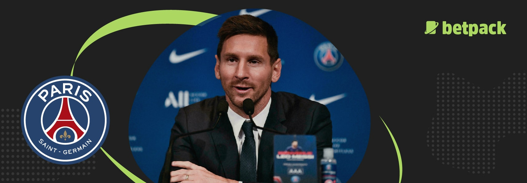 Lionel Messi opens up on joining PSG from Barcelona