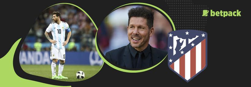 Simeone confesses Atletico interest in Messi